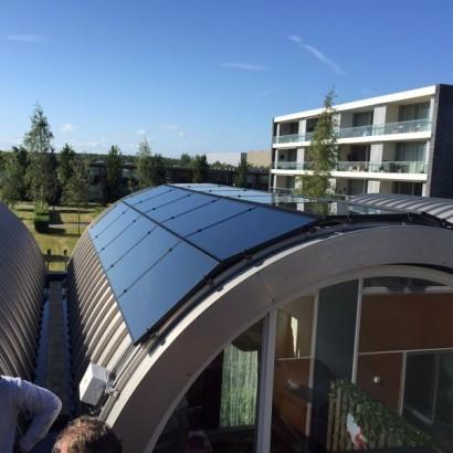 Solibro op rond dak